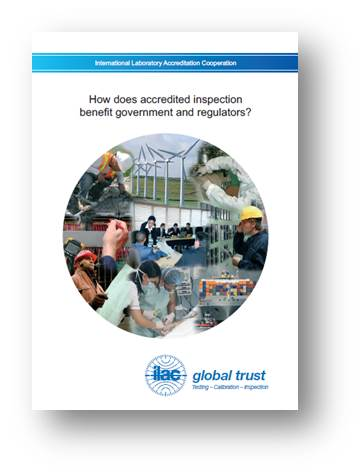 How does accredited inspection benefit government and regulators?