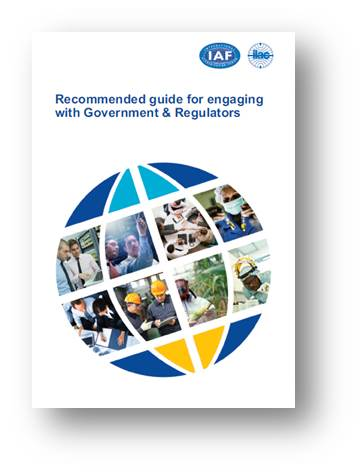 A guide for engaging with Government and Regulators