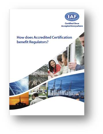 How does Accredited Certification benefit Regulators