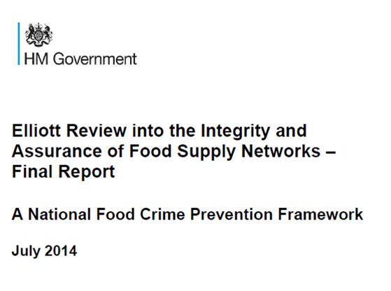 Accreditation: a tool to ensure food safety and food crime prevention