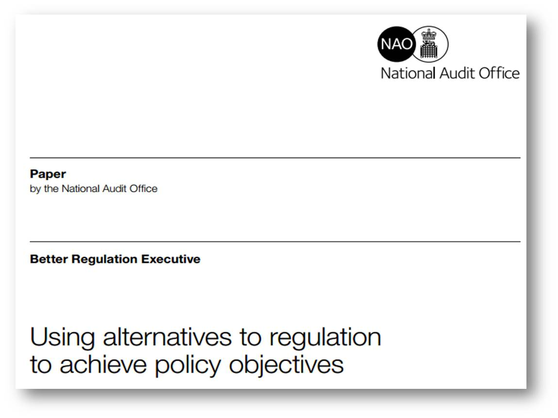 NAO propose the use of accreditation to improve public service delivery
