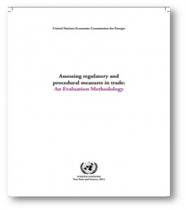 Assessing regulatory and procedural measures in trade: An Evaluation Methodology (2013)