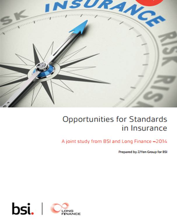 Opportunities for Standards in Insurance