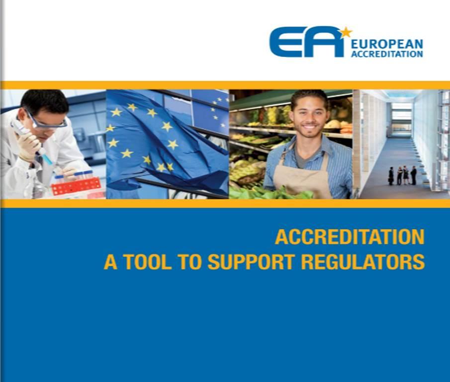Accreditation: A tool to support Regulators