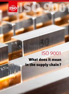 ISO 9001 – what does it mean in the Supply Chain (ISO, 2016)