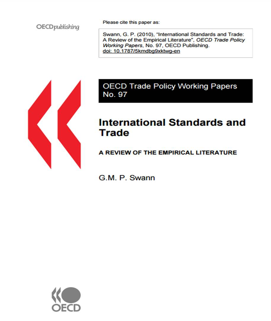 International Standards and Trade (OECD, 2010)