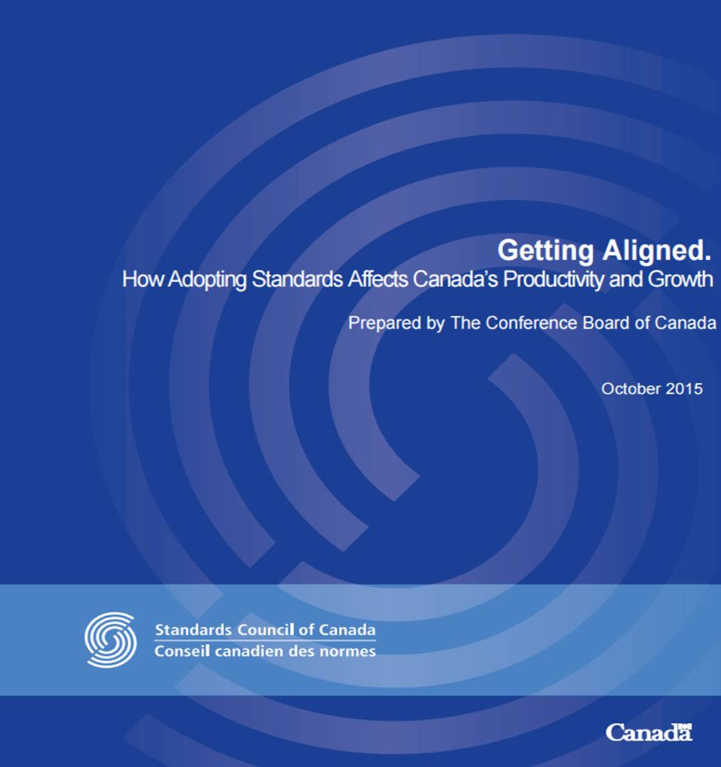 How Adopting Standards Affects Canada's Productivity and Growth