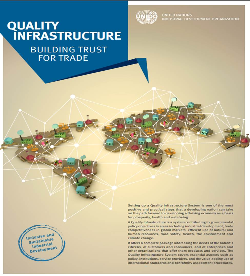 The benefits of a Quality Infrastructure (UNIDO, 2016)
