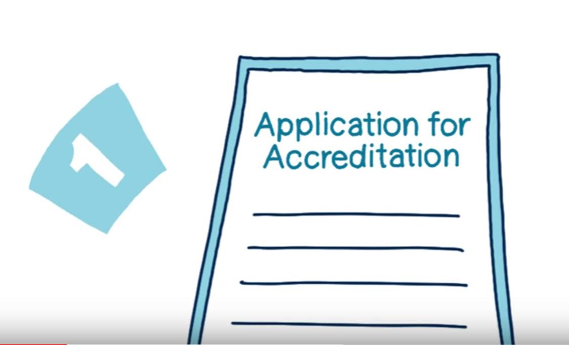 A step by step guide to gaining accreditation