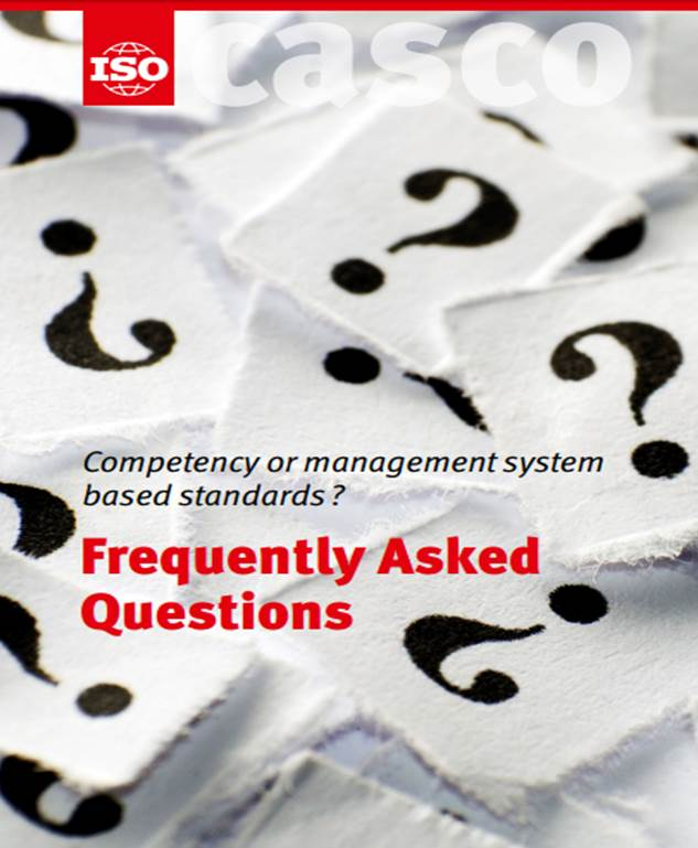 COMPETENCY OR MANAGEMENT SYSTEM BASED STANDARDS?