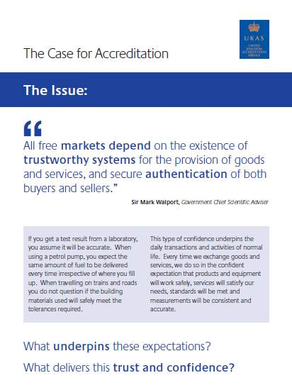 The case for accreditation
