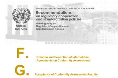 UNECE trade recommendations reference accreditation