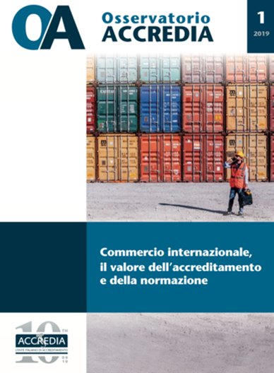 International commerce – the value of accreditation and standardization (May 2019)