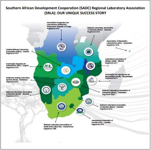 Southern African Development Cooperation (SADC) Regional Laboratory Association (SRLA): OUR UNIQUE SUCCESS STORY
